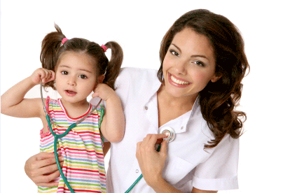 infants children and young adults get health care services from pediatricians ailments of young people are diagnosed and treated well by the pediatricians